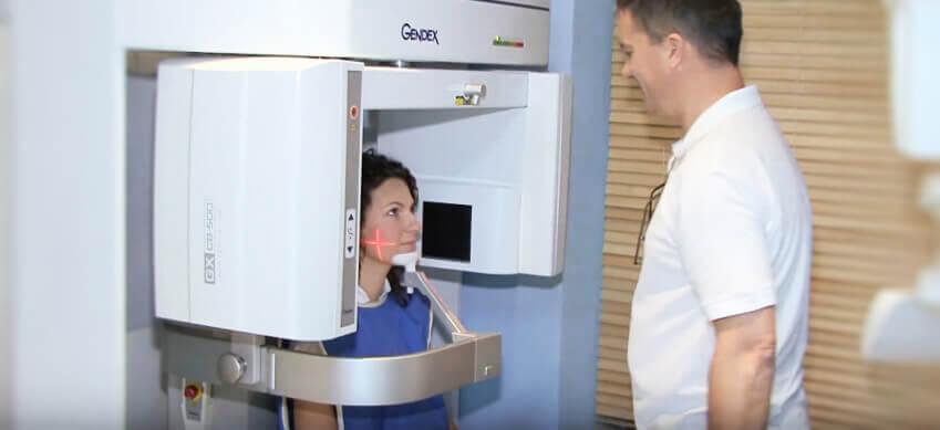 Dental CT im Dentalklinik Dr. Toka